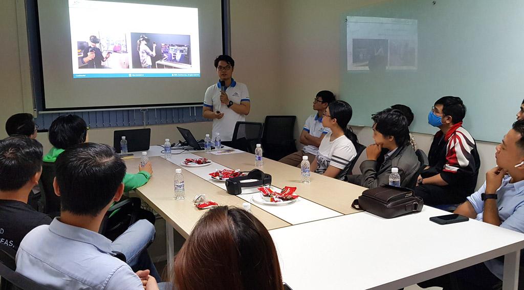 Anh Đinh Trần Thái Sơn - Giới thiệu về công nghệ và xu hướng ứng dụng của các thiết bị Vr Ar Mr