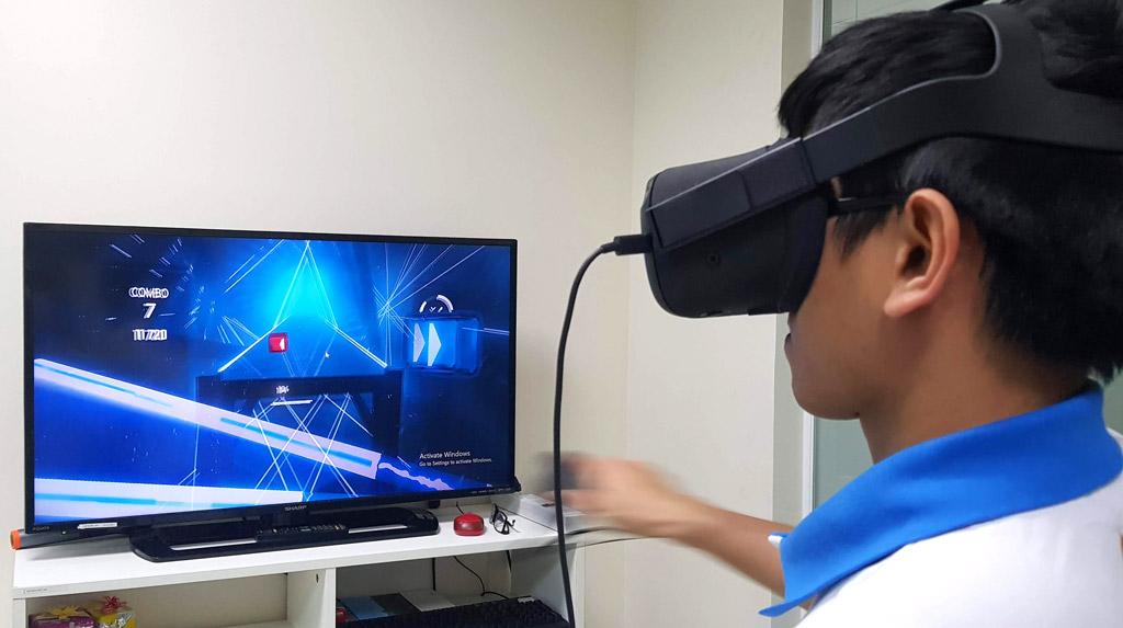 Trò chơi VR nổi tiếng Beat Saber