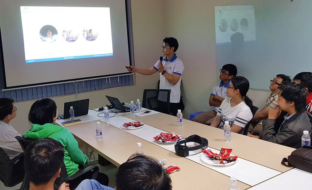 Anh Đinh Trần Thái Sơn - Giới thiệu cách phân biệt giữa 3 khái niệm Vr Ar Mr