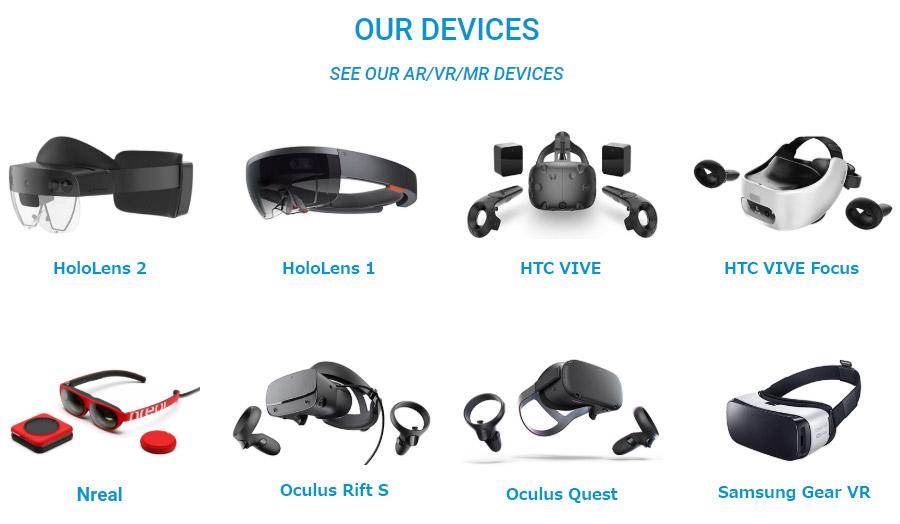 Trải nghiệm các thiết bị Vr Ar Mr tại công ty OneTech Asia